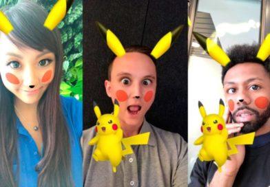 Snapchat agrega filtro de Pikachu por tiempo limitado
