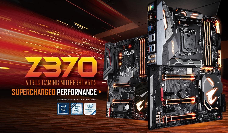 GIGABYTE anuncia sus Motherboards AORUS Z370 para \