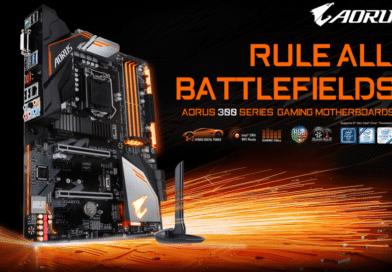 GIGABYTE anuncia el lanzamiento de las motherboards serie H370 y B360 AORUS GAMING WIFI