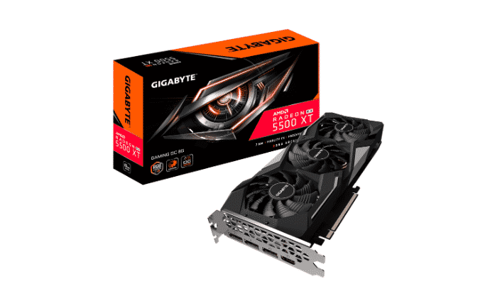 Nuevas tarjetas gráficas Gigabyte Radeon RX 5500 XT