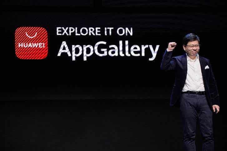 Richard Yu_AG release Huawei AppGallery