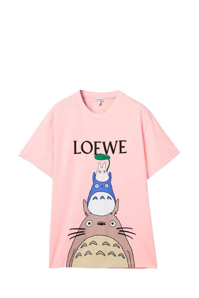 LOEWE x Mi vecino Totoro-playera