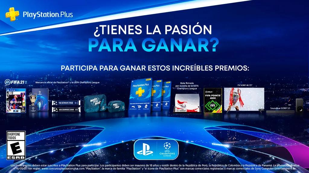 Premios PlayStation Perú Colombia y Panamá